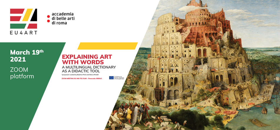 EXPLAINING ART WITH WORDS: A MULTILINGUAL DICTIONARY AS A DIDACTIC TOOL