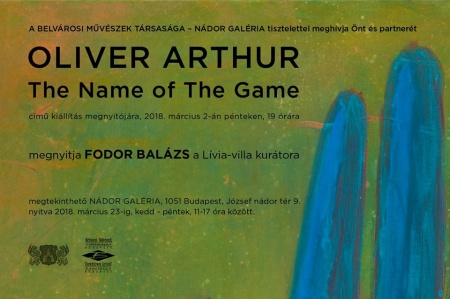 Oliver Arthur: The Name of The Game